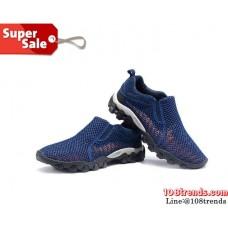 Flow Relax Shoes S957 Aquatwo รองเท้าทรงตาข่าย (สีกรมท่า)